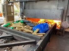 Prejuízo para a bandidagem: Polícia Federal incinera 12,5 toneladas de drogas em São Paulo