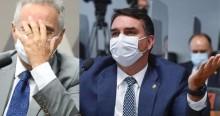 """Flávio acaba com Renan: """"Ele não sabe investigar, até porque está acostumado a ser investigado"""" (veja o vídeo)"""