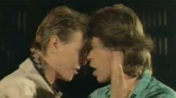 Mick Jagger e David Bowie