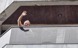 Lula, na cobertura em São Bernardo