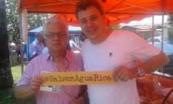 Valmir Corrêa e Sergio Maidana