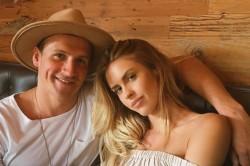 Ryan Lochte e a modelo Kayla Rae Reid