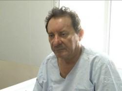 Zito, no hospital em São Luis