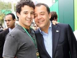 João Pedro e Sérgio Cabral