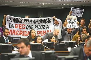 O debate deverá ser acirrado: redução da maioridade penal será votada até o fim de junho