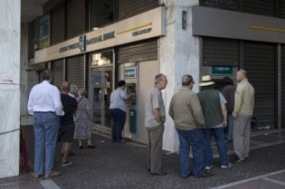 Crise: Euro despenca...