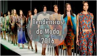 Tendências da Moda 2016: Revitalizam o passado