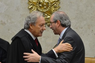 Cunha pede ao presidente do STF a saída do Juiz Moro dos processos em que é citado