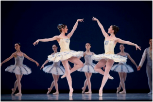 Bailarinas são artistas que buscam a perfeição