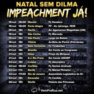 Hoje tem impeachment?