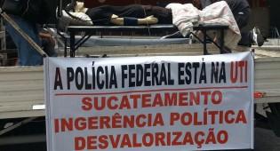 O  país em risco, Polícia Federal sucateada, com carência de servidores e corte de verba