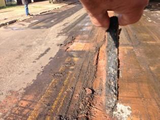 Campo Grande e o terrível golpe do 'asfalto casca de ovo'