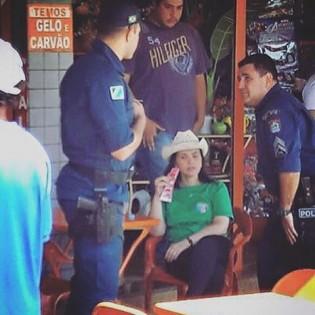 Deputada, com sinais de embriaguez, é enxotada de bar em Fátima do Sul (veja vídeo)