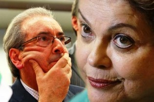 Cunha e Dilma, 'um comeu o outro e o outro comeu um' (veja o vídeo)