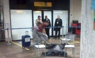 Jovem de 18 anos é executado com 20 tiros em aeroporto de Porto Alegre (veja o vídeo)