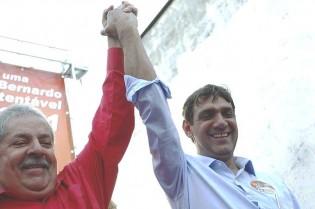 Lula, indignado e inconsolável, não admite a derrota eleitoral do filho em São Bernardo