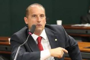 Onix Lorenzoni defende força tarefa contra Teori e é aplaudido na Câmara (veja o vídeo)