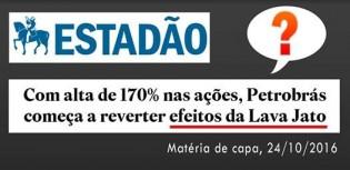 Matéria de capa do 'Estadão' demonstra que rumo da grande imprensa é preocupante