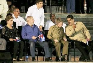 Em jato particular, Lula e Dilma prestigiam homenagem póstuma a Fidel