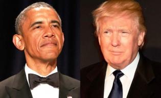 Obama e Trump
