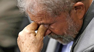 Lula está inconsolável!