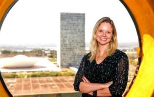 Danielle Cunha, a candidata que Cunha quer eleger em 2018
