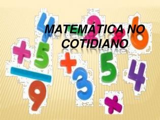 A linguagem Matemática com o cotidiano: um jeito matemático de pensar