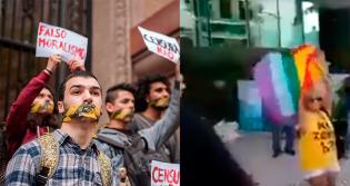 As diferentes reações da esquerda e da direita diante da presença de um adversário (veja o vídeo)