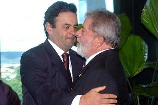 Medo generalizado faz com que forças políticas antagônicas se unam a favor de Aécio Neves