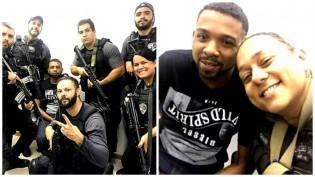 """O que dizer dos """"selfies"""" dos policiais com Rogério 157?"""