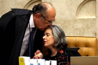A JUSTIÇA MALAndra, Gilmar e a sua cúmplice