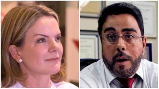 Gleisi, completamente descontrolada, ataca o juiz Marcelo Bretas