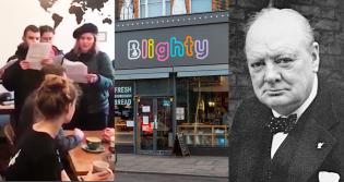 Cafeteria homenageia herói da Segunda Guerra e esquerdistas pedem seu boicote durante invasão (veja o vídeo)