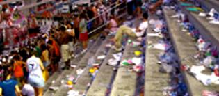 Sapucaí, após o carnaval, o espelho do Rio de Janeiro