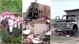 Fazenda é novamente invadida por sem terras e desta vez completamente destruída (Veja o Vídeo)