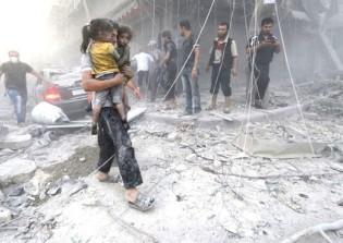 A guerra na Síria e a destruição de tudo