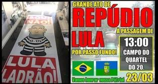 """Passo Fundo prepara """"Inesquecível"""" recepção para Lula e vídeo de procurador viraliza na rede (Veja o Vídeo)"""