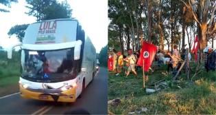 """A estrada onde ocorreu o suspeitíssimo """"atentado"""" é margeada, exclusivamente por acampamentos do MST"""