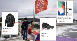 Imagem identifica perfil de militante do MTST