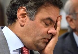 Cheirou mal a internação em segredo de Aécio Neves