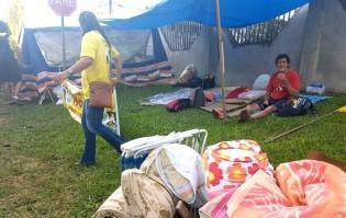 Resistência de acampados pró-Lula está no final, restam 70