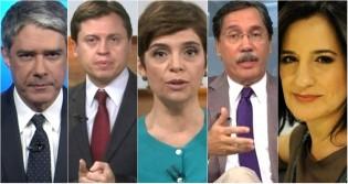 O grande enfrentamento dos caminhoneiros é o time de covardes da Rede Globo