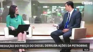 Globo expulsa do estúdio convidado que diz a verdade sobre preço de combustível (Veja o Vídeo)