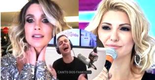 Barraco entre Flávia Alessandra e Antônia Fontenelle faz marido chorar ao vivo (Veja o Vídeo)