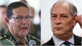General Mourão diz que Ciro não resiste a cinco minutos de argumentação (Veja o Vídeo)