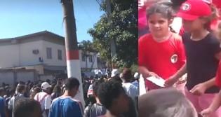 Mãe reage indignada ao flagrar filho de 13 anos em doutrinação ideológica de gestão petista (Veja o Vídeo)