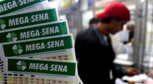 """O resultado da Mega-Sena: 50-51-56-57-58-59. Parece evidente o """"cambalacho"""""""