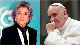 Por aborto, Atriz Beth Farias, faz ataque rasteiro ao Papa Francisco (Veja o Vídeo)