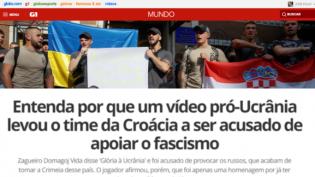 Um flagrante do jornalismo picareta que prega que o mundo só tem dois lados: a Esquerda Mocinha e os Vilões