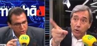 Candidato do PT ao governo de SP, mente ao vivo e troca insultos com Villa (Veja o Vídeo)